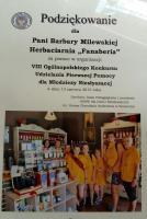 Podziękowania za pomoc w organizacji VIII Ogólnopolskiego Konkursu Udzielania Pierwszej Pomocy dla Młodzieży Niesłyszącej